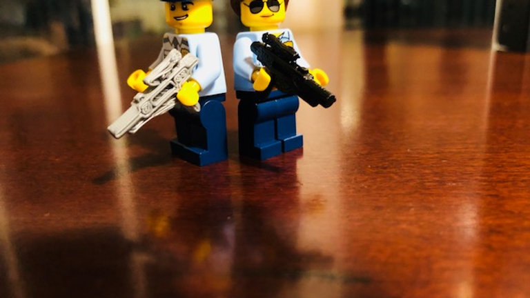 LEGO Star Wars Stormtrooper Blaster (Minifigures not included)