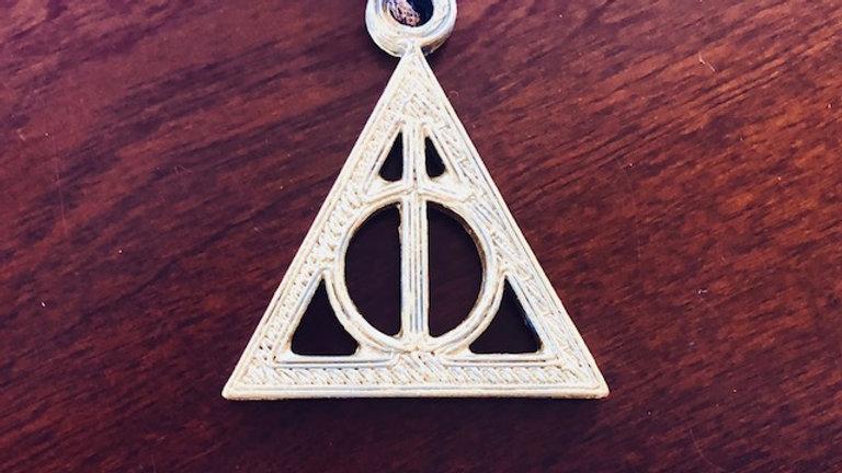 Deathly Hallows Pendant (Stone optional)