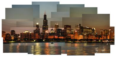 Chicago Skyline No. 2