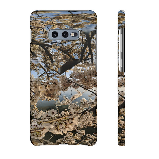 Cherry Blossoms Afternoon Glow Phone Case