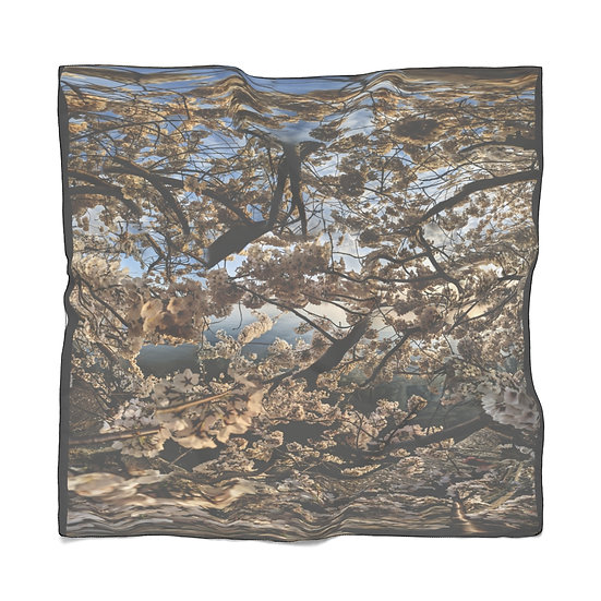 Cherry Blossom Afternoon Glow Scarf