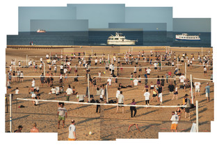 Beach Volleyball, Chicago, Illinois