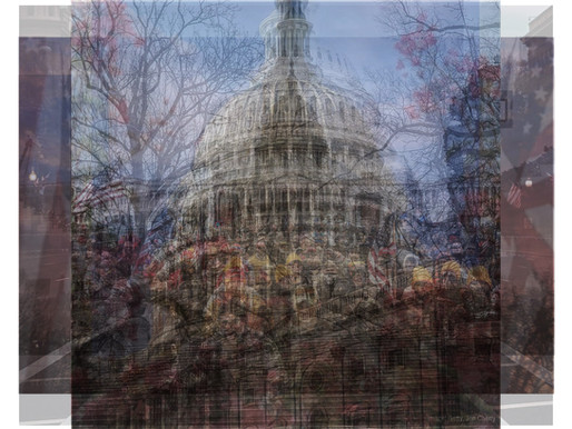 The US Capitol on Inauguration Day the #Insta_Stack_Art Way