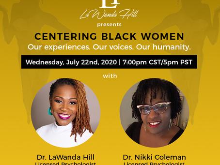 Centering Black women
