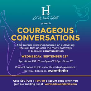 Dr. LaWanda Hill Presents Courageous Conversations