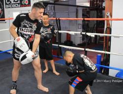 teaching kids not to get hit