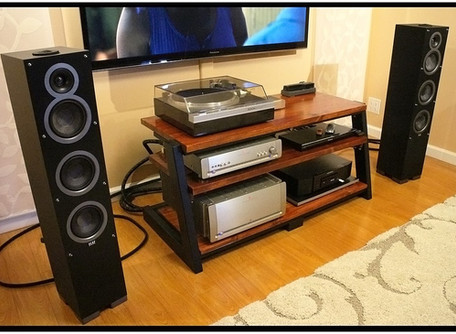 ELAC Debut F5 Tower Speakers Review.