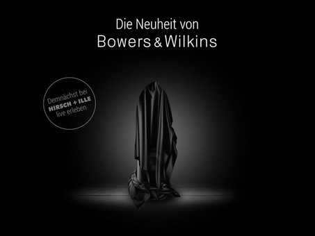 Bowers & Wilkins New Speaker Announcement ?