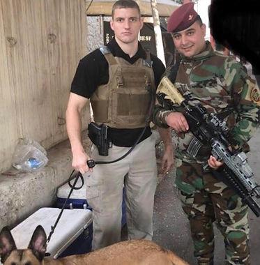 Wayne and Iraqi Army