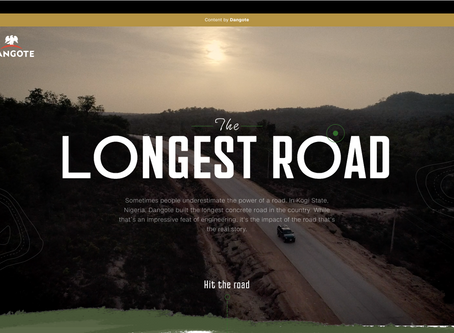 The Longest Road - Dangote