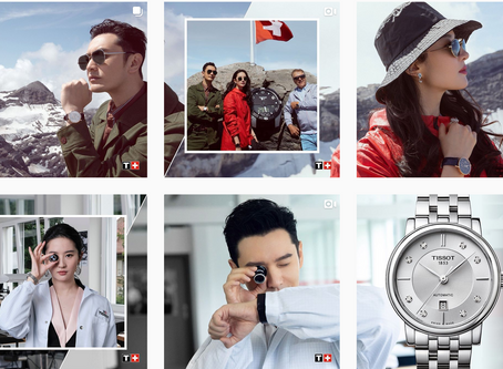 Liu Yifei and Huang Xiaoming - Tissot Ambassadors in Switzerland