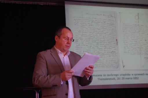 Spotkanie z Panem dr Grzegorzem Madejem