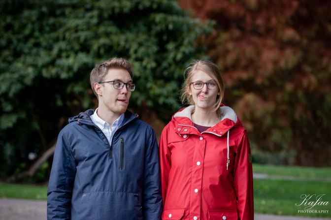Pärchen Lisa und Joshi