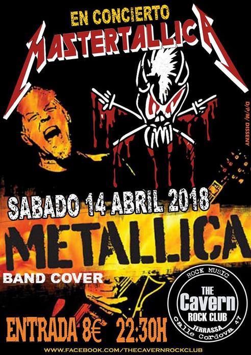 Mastertallica en The Cavern Rock Club (Terrassa)