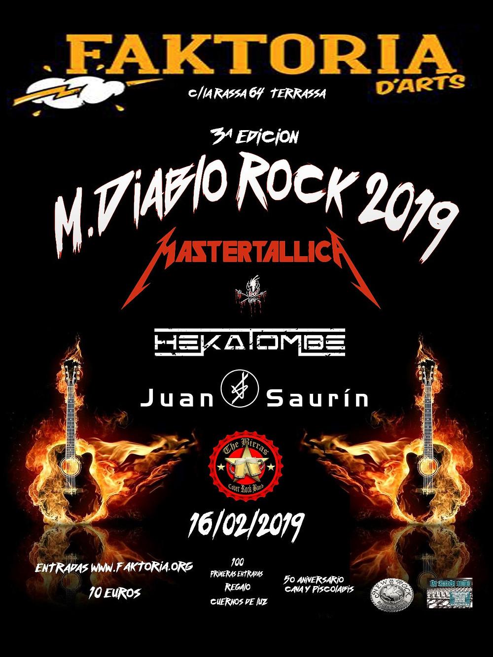 Diablo Rock 2019