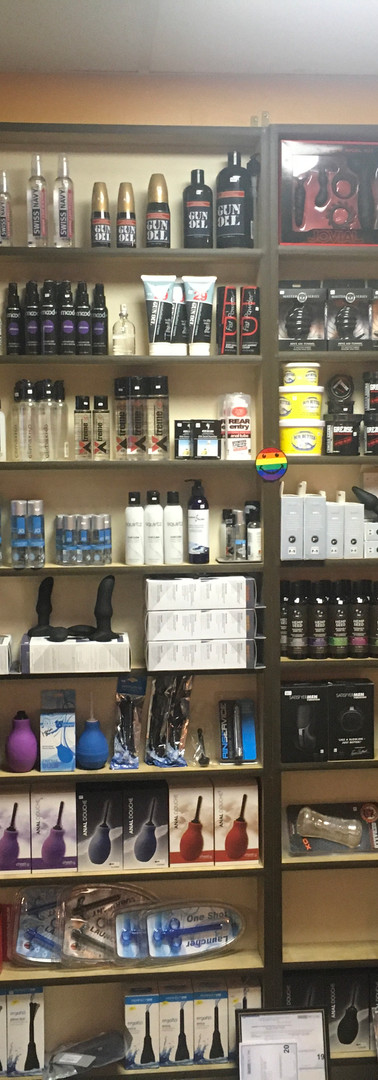 Assorted Lubes and Accessories