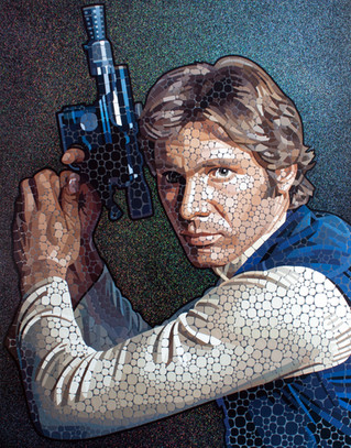 The Galactic Smuggler - Harrison Ford