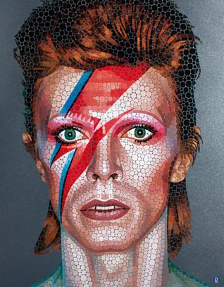 Aladdin Sane - David Bowie (Glitter back
