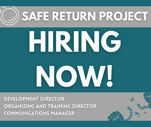 Join the Safe Return Team! We are HIRING