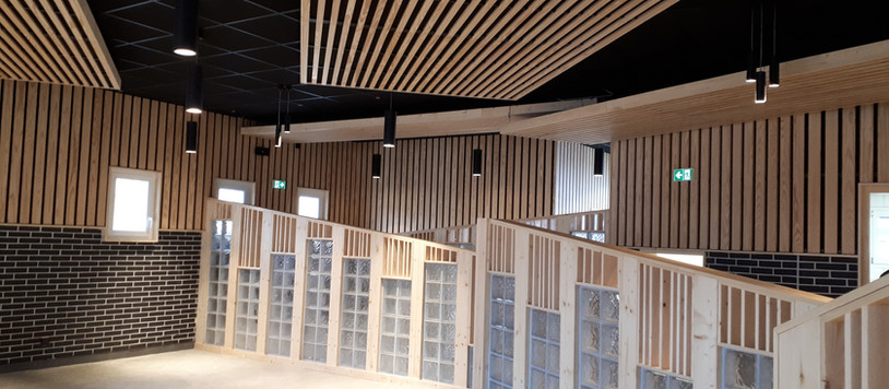 CHANTIER - Avancement du projet de la cuisine et du réfectoire du Lycée Jean-Monnet (43)
