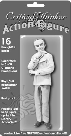 Critical Thinker Action Figure
