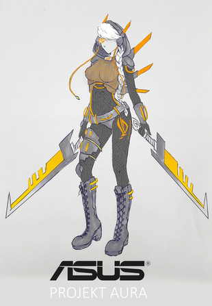 Asus Aura Concept Art