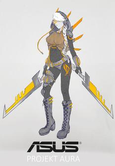Asus Aura Sketch