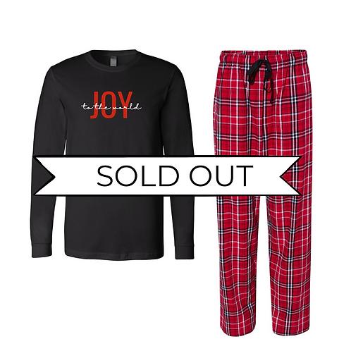 Black & Red Plaid Joy