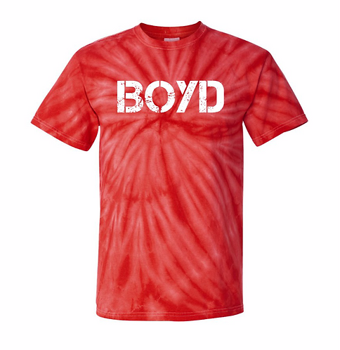 Distressed Tie-Dye Boyd