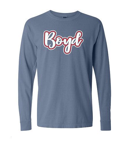 Boyd Script Comfort Colors T-shirt