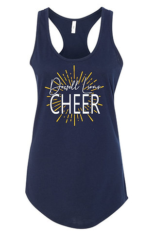 Dowell Lions Cheer Tank