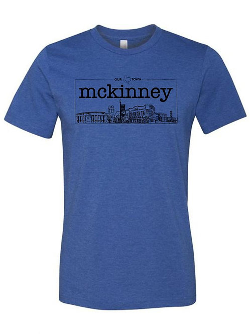 Our Town McKinney - Blue
