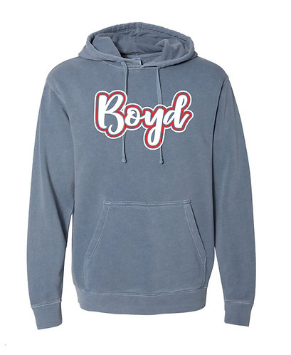 Boyd Script Hoodie Sweatshirt