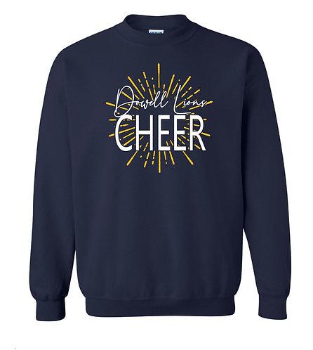 Cheer Burst Crew Sweatshirt