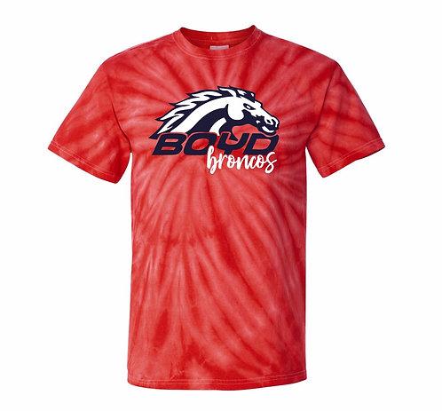 Boyd Broncos Tie-Dye T-shirt