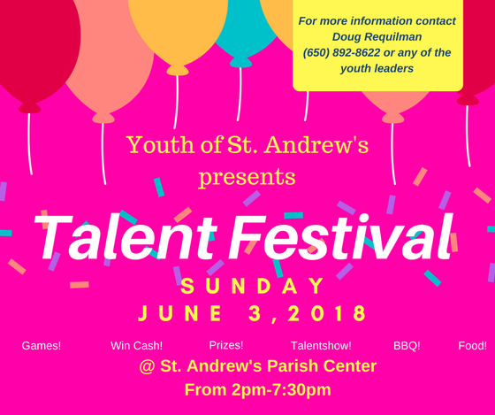 Talent Festival - June 3, 2018