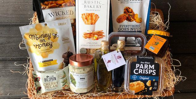 Gourmet Food Basket - Medium