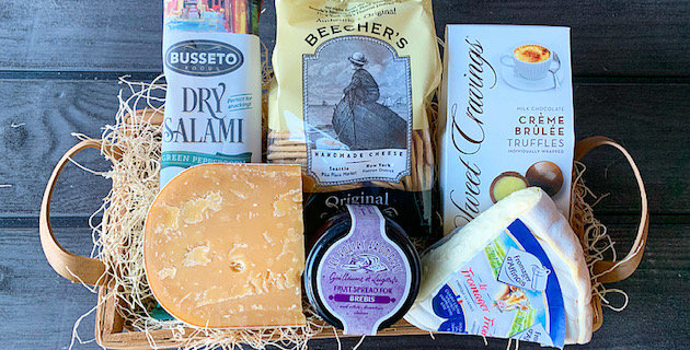 Cheese & Charcuterie Basket - Small