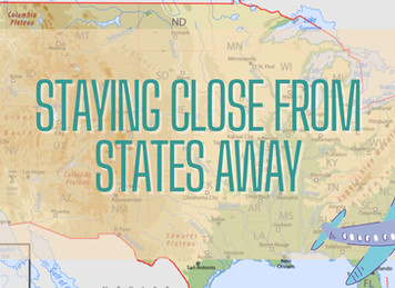 Staying Close From States Away