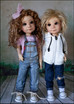 Light tan Finn and Fifi Pre order