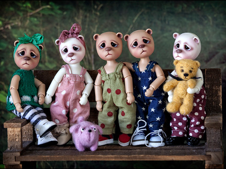 Little Ted pre order ʕ•́ᴥ•̀ʔっ