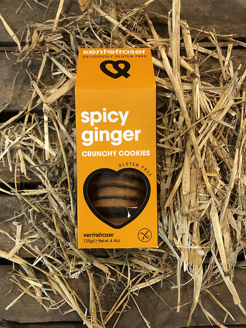CRUNCHY COOKIES - SPICY GINGER
