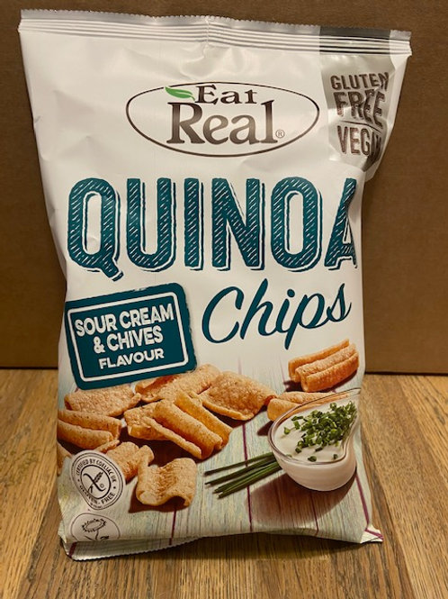 QUINOA CHIPS (Sour Cream & Chives)