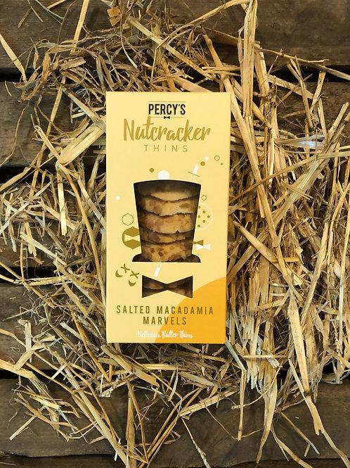 NUTCRACKER THINS - SALTED MACADAMIA MARVELS