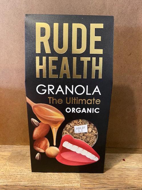 ORGANIC GRANOLA (Rude Health)