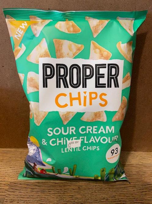 LENTIL CHIPS (Sour Cream & Chive)