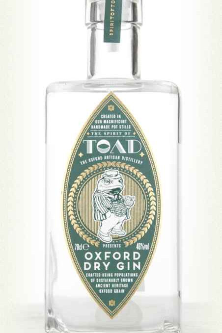 TOAD OXFORD DRY GIN