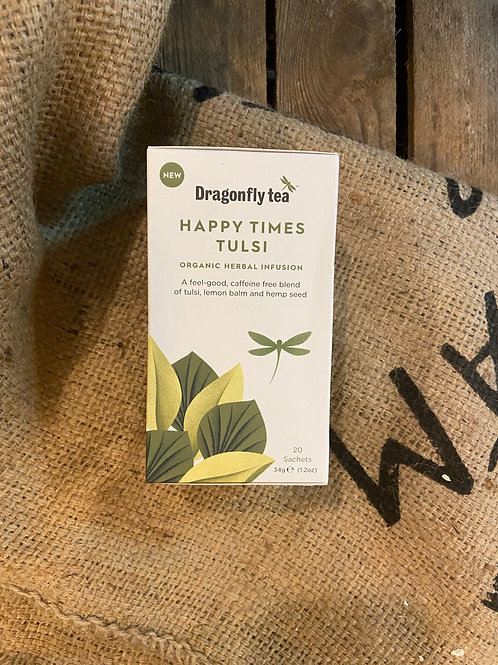 DRAGONFLY TEA - HAPPY TIMES TULSI