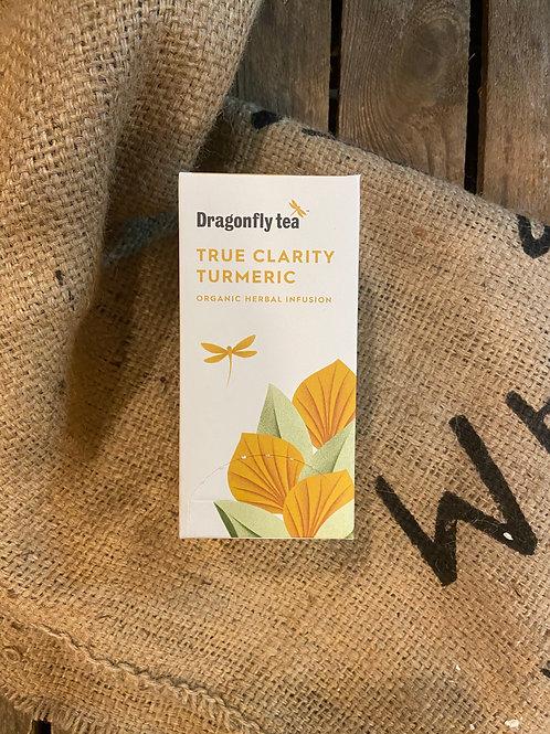 DRAGONFLY TEA - TRUE CLARITY TURMERIC (20 BAGS)