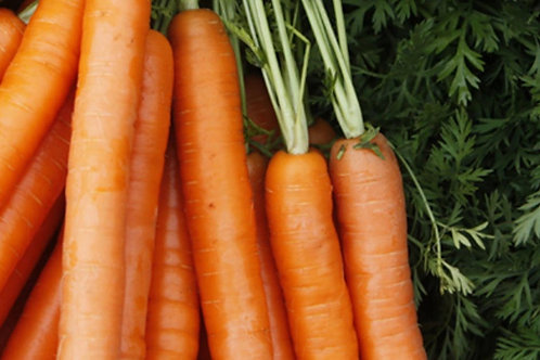 Carrots Organic UK washed (per 500g)